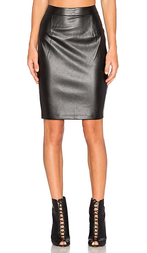 cupcakes and cashmere Jasper Skirt in Black
