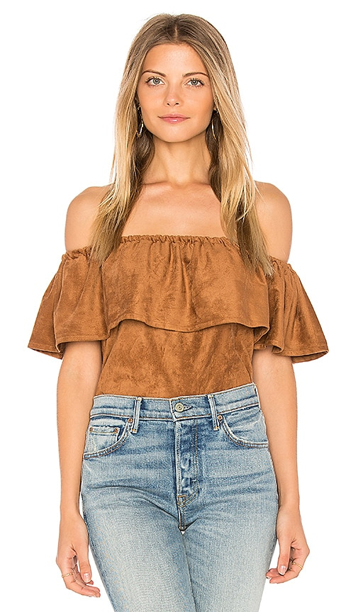 cupcakes and cashmere Jennings Top in Brown