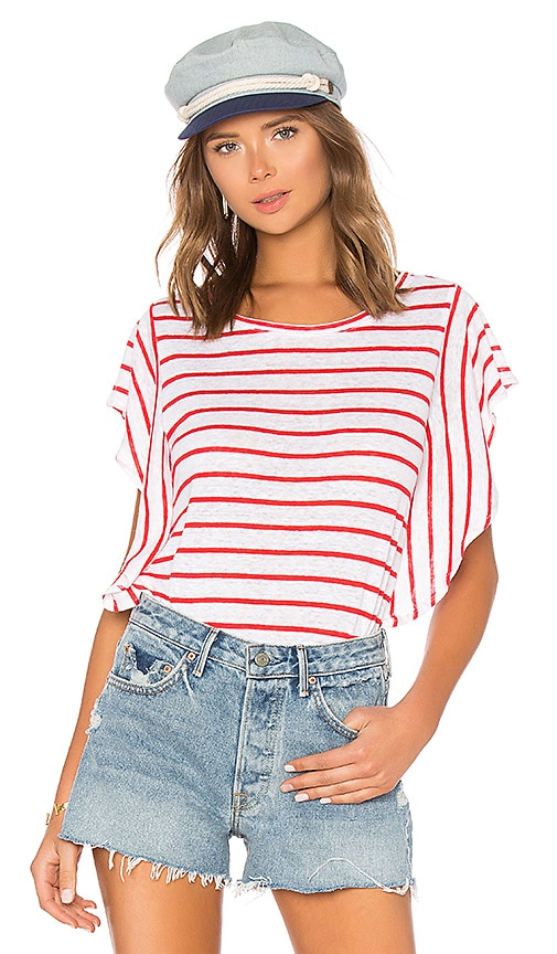 Cannon Top in Red. - size XS (also in L,M,S) cupcakes and cashmere