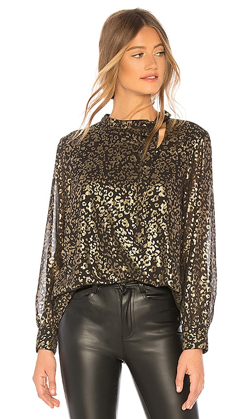 00aaffe3a660 cupcakes and cashmere Clarisse Top in Black