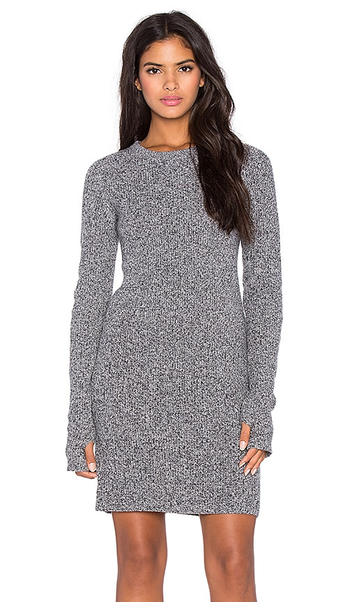 Current/Elliott The Easy Sweater Dress in Steel Grey