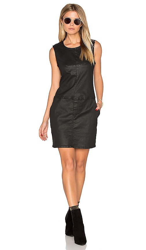 Current/Elliott The Shift Dress in Black