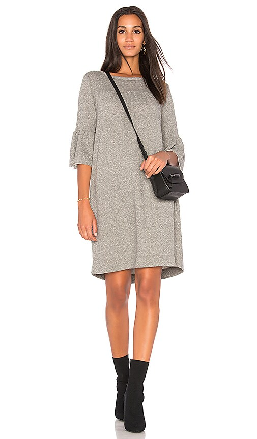 Current/Elliott The Abigail Knit Dress in Gray