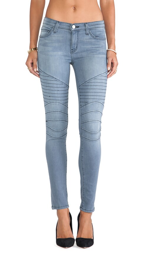 The Moto Ankle Skinny