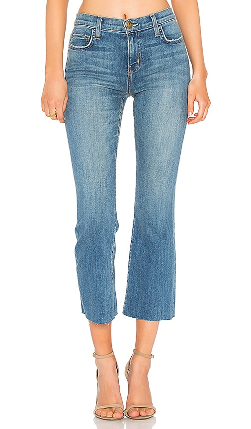 Current/Elliott The Kick Jean in Pacific Cut Hem