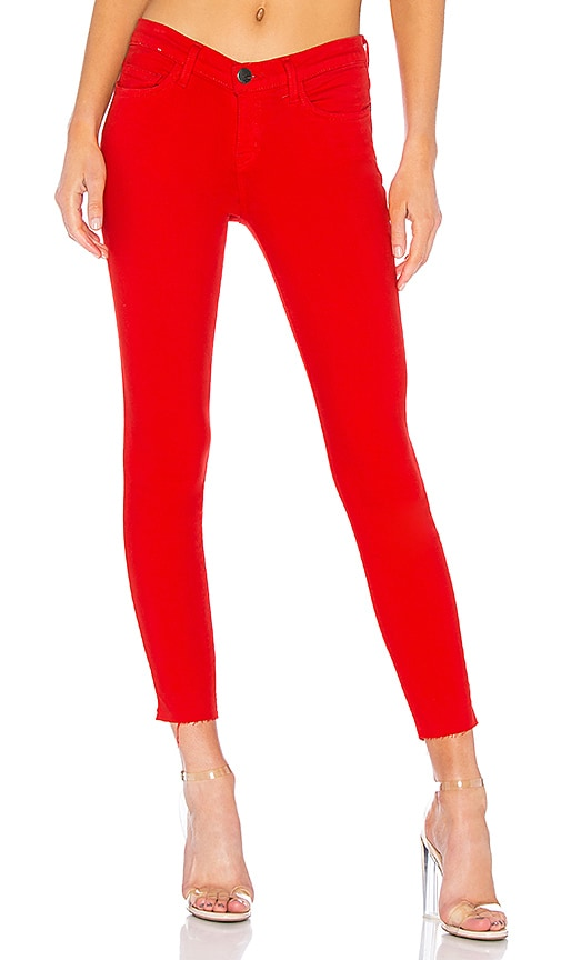 Current/Elliott The Stiletto Jean in Racing Red