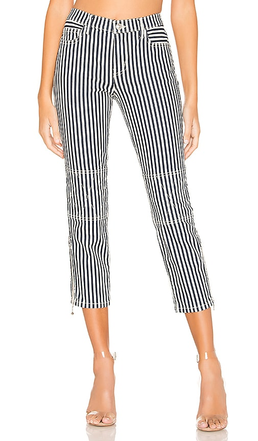 Current Elliot The Cropped Lexton in Modern Stripe