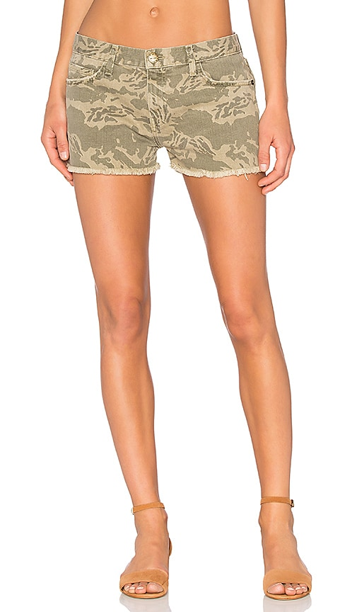 Current/Elliott The Boyfriend Short in Broken Camo