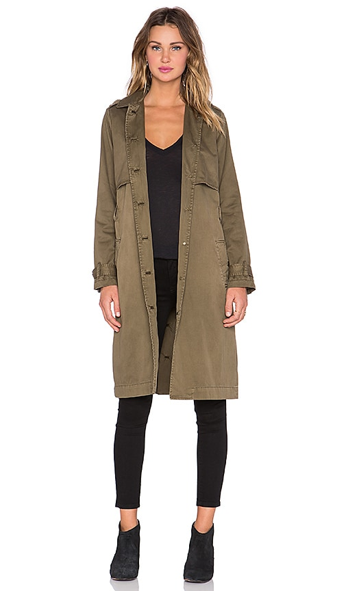 The Storm Flap Trench Coat