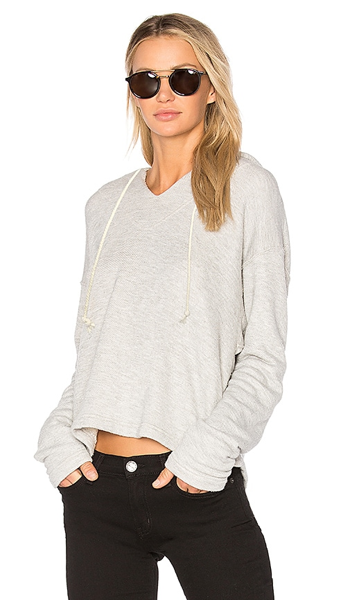 Current/Elliott The Lounge Pullover in Gray