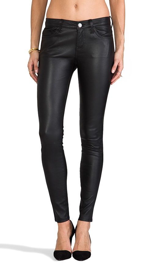 The Ankle Leather Skinny