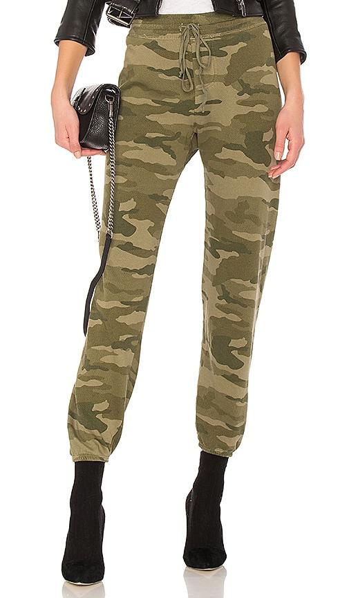 Current/Elliott The Collegiate Sweatpant in Army