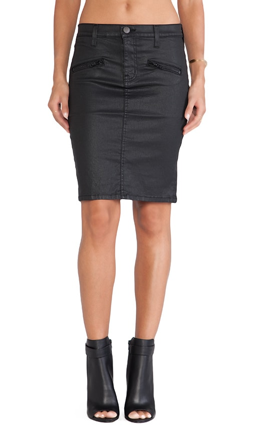 The Soho Zip Pencil Skirt