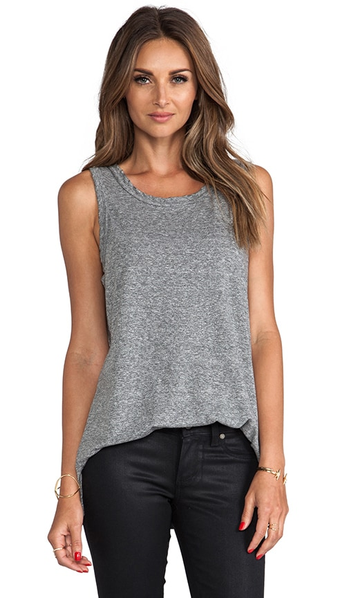 Current/Elliott The Muscle Tee in Gray