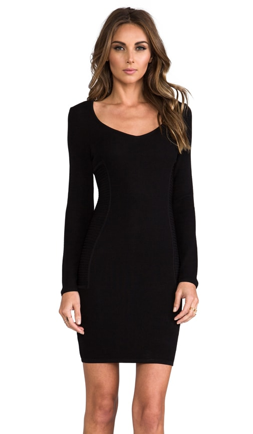 Long Sleeve Techno Dress