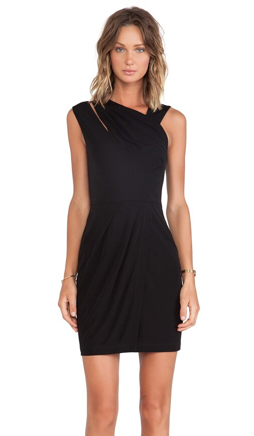 Ruched Matte Jersey Dress