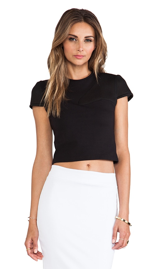 Ponte Cropped Top