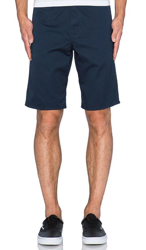 Carhartt WIP Club Short in Duke Blue Black