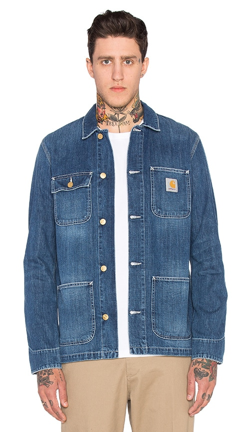 19ffc6772e Carhartt WIP Michigan Chore Coat in Blue | REVOLVE