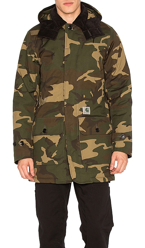 Carhartt WIP Smith Coat in Army