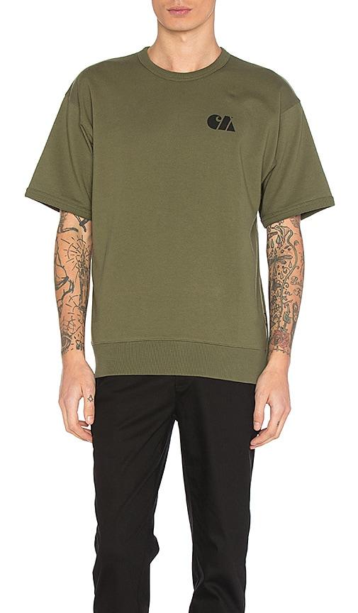 Carhartt WIP Military Training Sweatshirt in Army