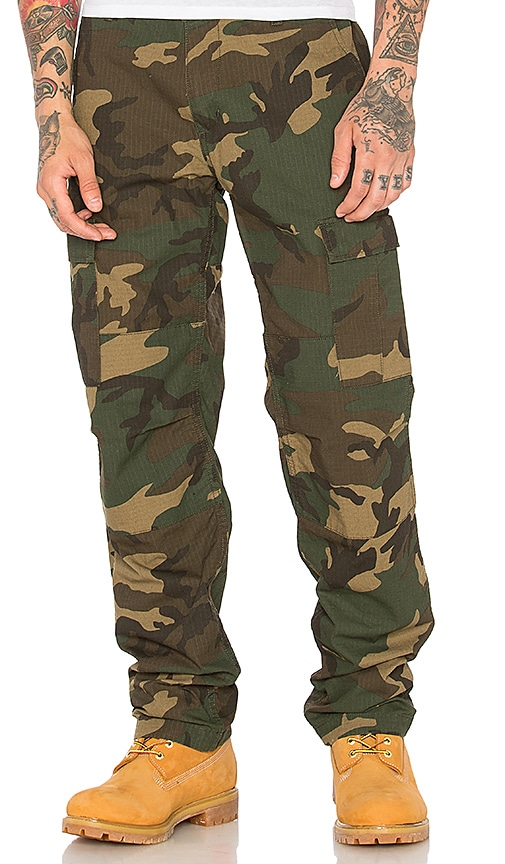 6f3d0fd038f Carhartt WIP Aviation Pant in Camo Laurel | REVOLVE
