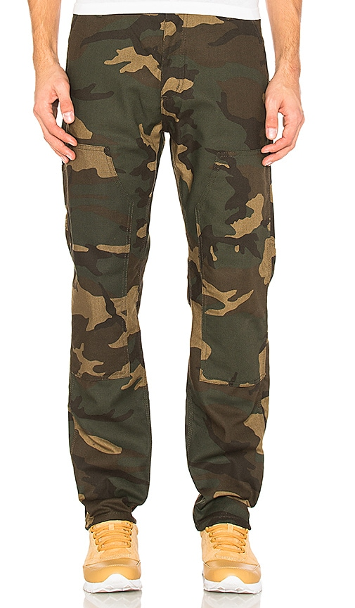 Carhartt WIP Ruck Double Knee Pant in Green