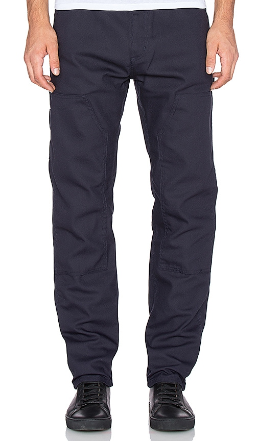 Carhartt WIP Ruck Double Knee Pant in Dark Navy