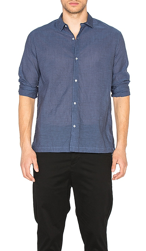 CWST Long Shirt in Blue