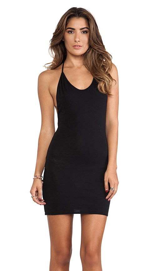 Draped Back Tank Dress