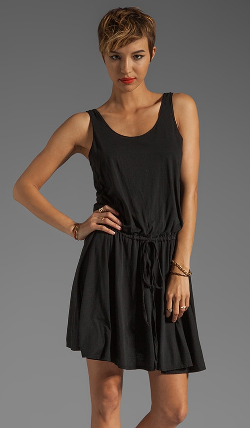 Draw-String Tank Dress
