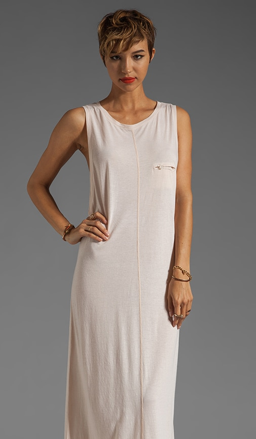Open Sides Back Tie Dress