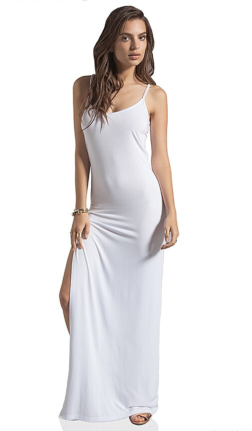 Long Thin Strap Tank Dress