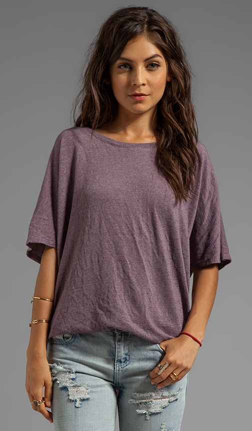 Oversized Open Back Tee