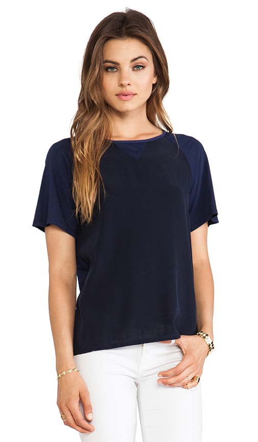 Contrast Color Tee