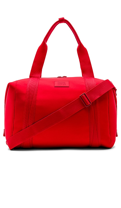 DAGNE DOVER Landon Carryall Large Bag in Red
