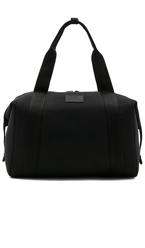 DAGNE DOVER 365 Large Landon Neoprene Carryall Duffel Bag - Black