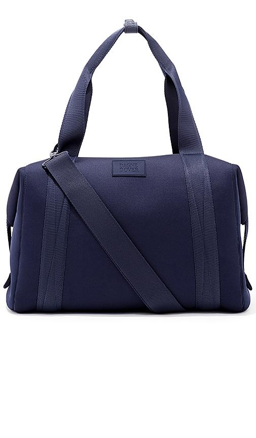 DAGNE DOVER Landon Large Carryall Handbag in Navy