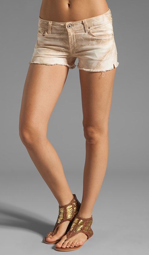 Lela Raw Edge Short