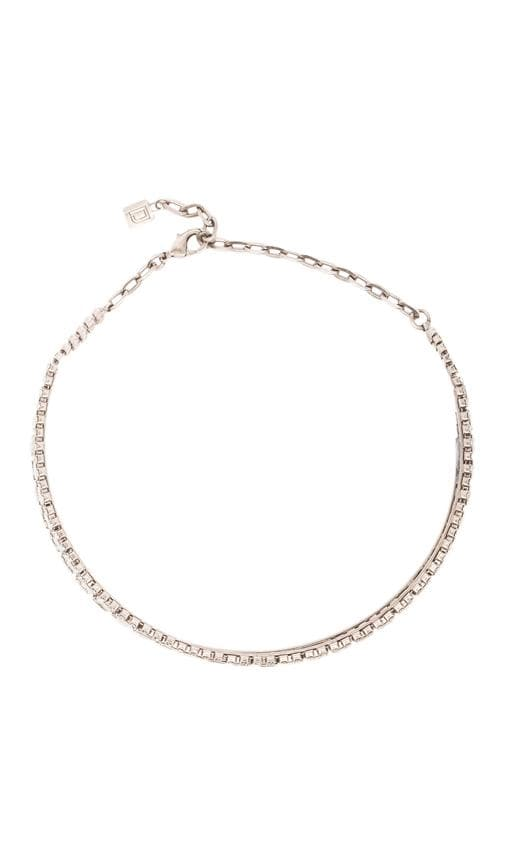 Thea Rhinestone Choker Necklace