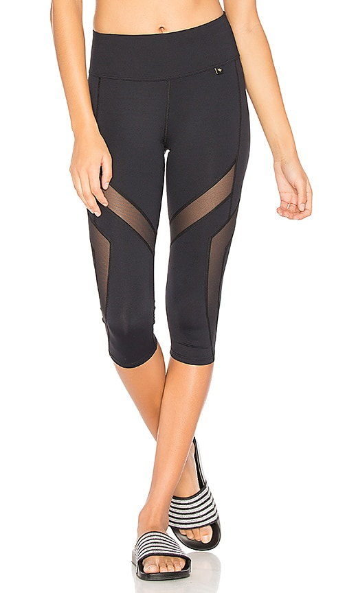 DAQUINI Helix Crop Legging in Black