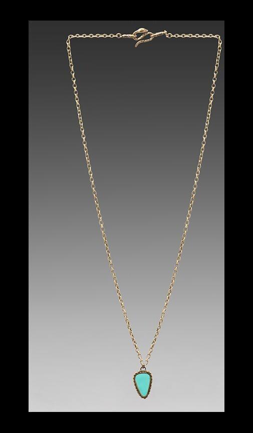 Arrowhead Amulet Enamel Small Pendant