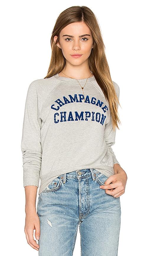 DAYDREAMER Champagne Champion Sweatshirt in Gray