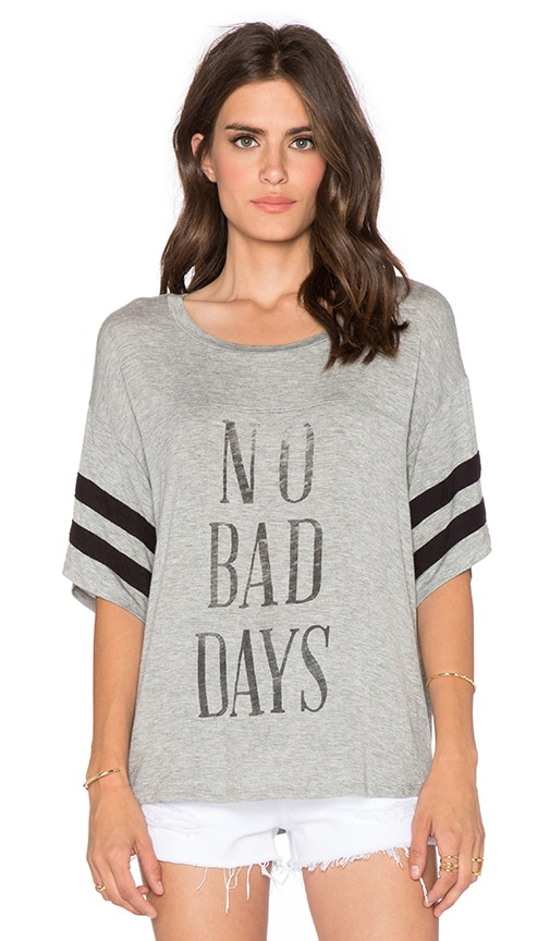 DAYDREAMER No Bad Days Tee in Heather Grey