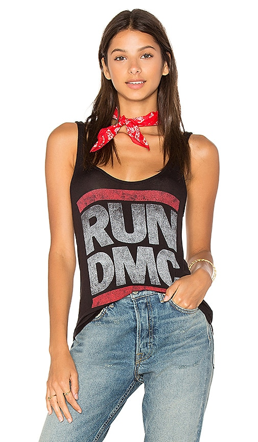 DAYDREAMER Run DMC Tank in Black