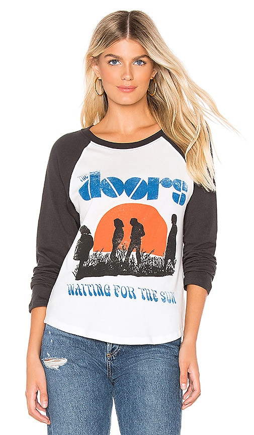 The Doors Waiting for the Sun Raglan