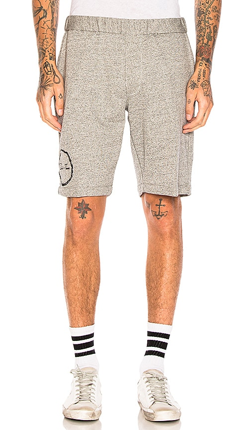 Death to Tennis Nobby Shorts in Gray