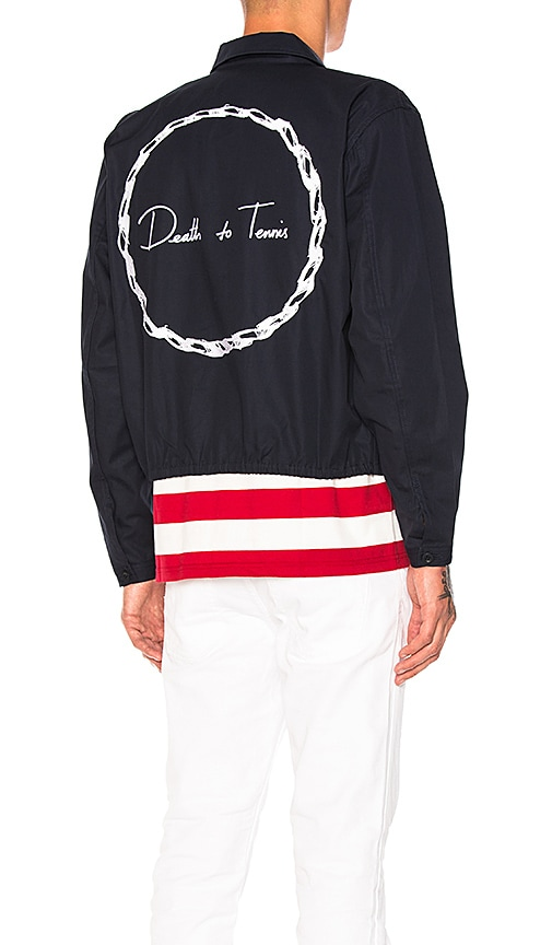 Death to Tennis McCarthy Jacket in Navy