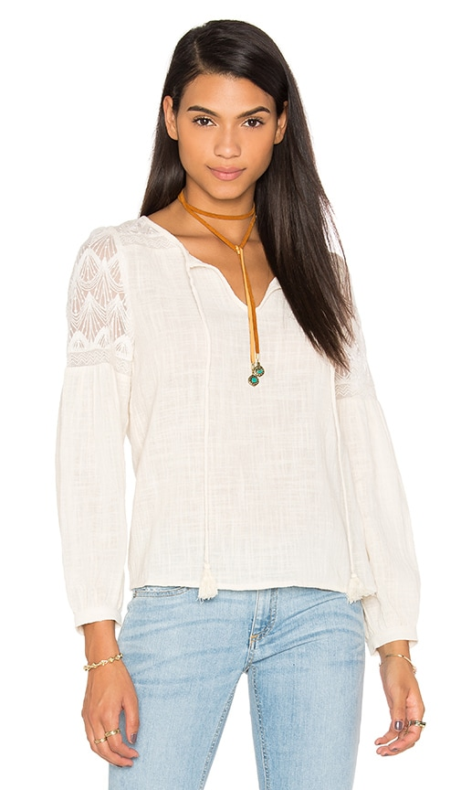 Deby Debo Allya Top in Ivory