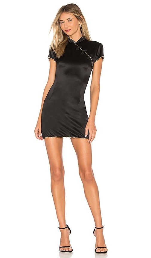DE LA VALI Suki Dress in Black